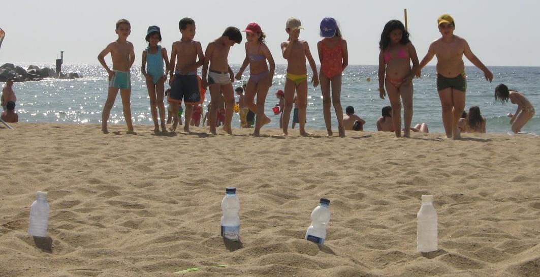 Sortida de segon a la platja