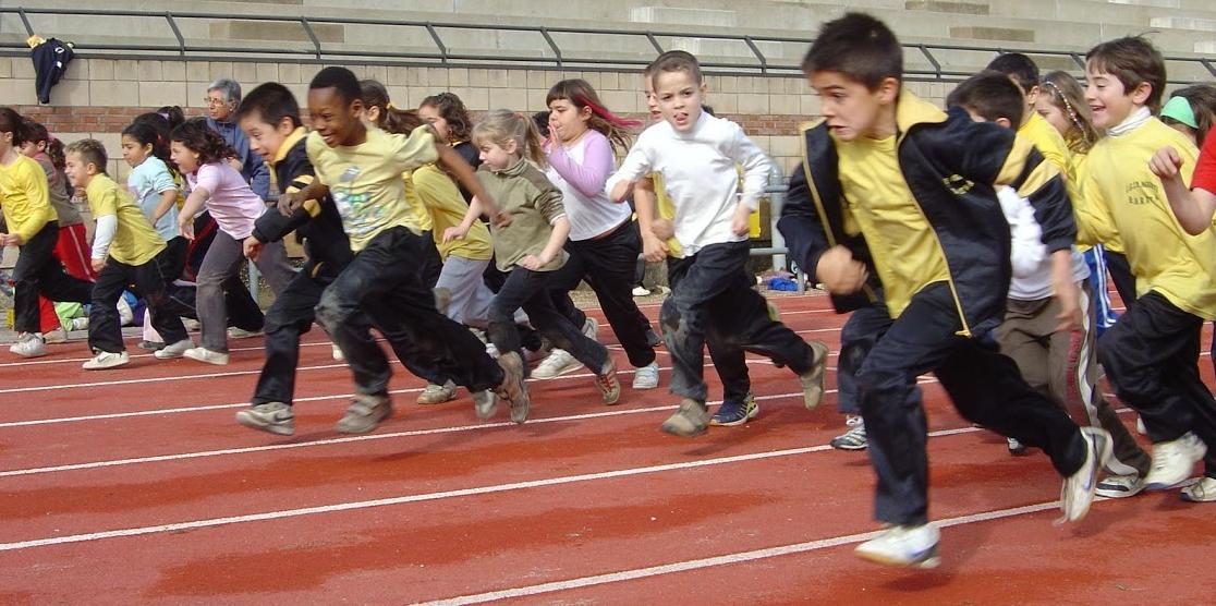 Atletisme a les pistes de Can Jofresa