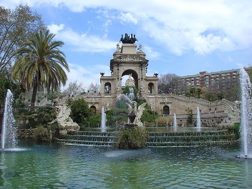 Cursa d'orientació al Parc de la Ciutadella