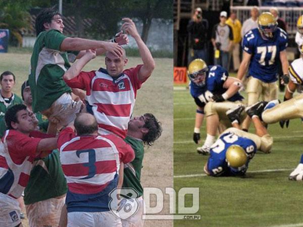 Rugbi i futbol americà