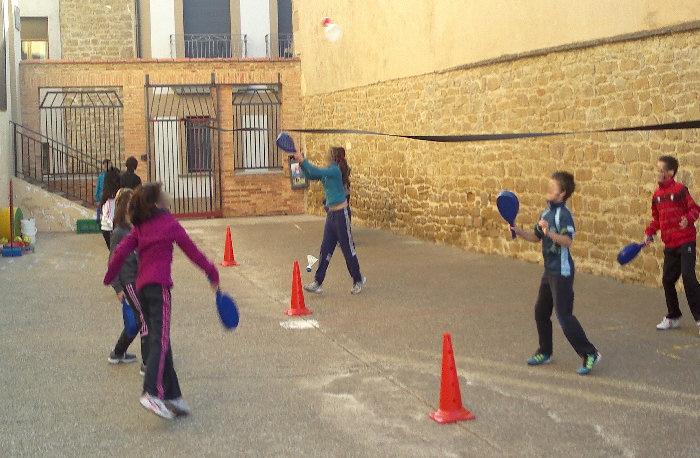 Shuttleball, joc de raquetes
