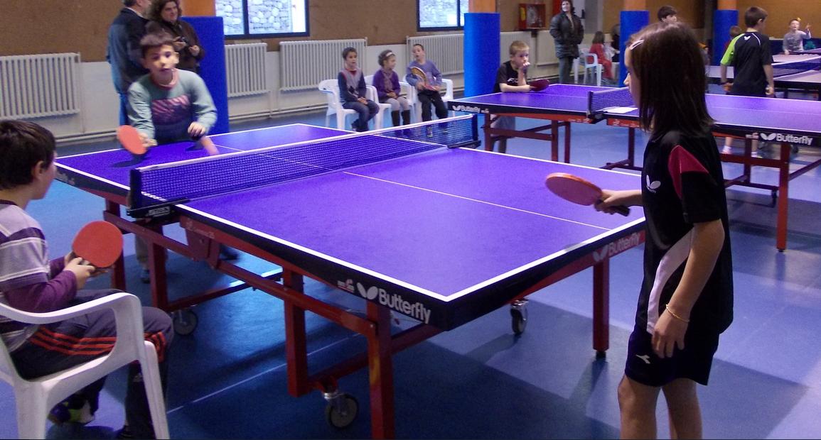 Ping pong - Tennis taula a educació física