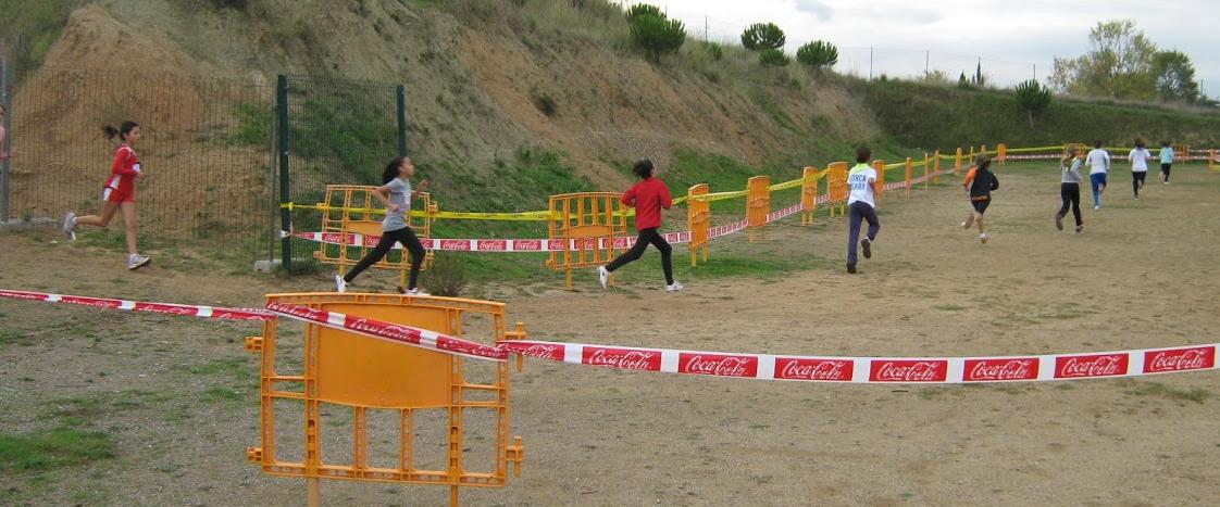 Campionat comarcal escolar de cros de Terrassa 2012