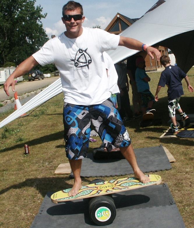 Indoboard: treball de l'equilibri dinàmic