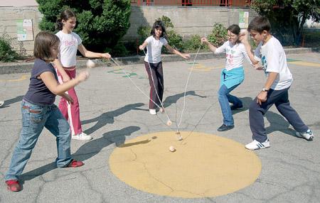 Joc tradicional. La baldufa