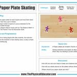 Paper-Plate-Skating