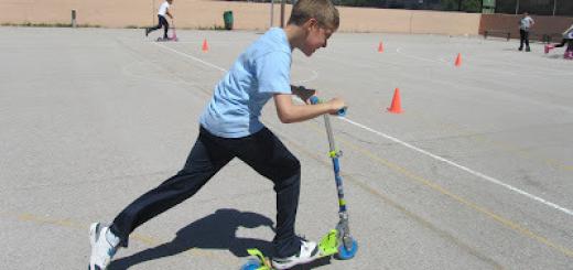 Activitats de patinatge a tercer