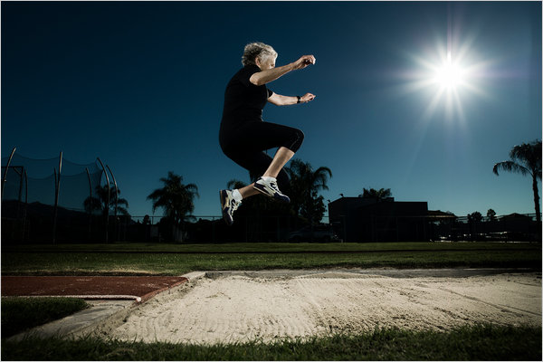 Olga Kotelko, una esportista de 94 anys