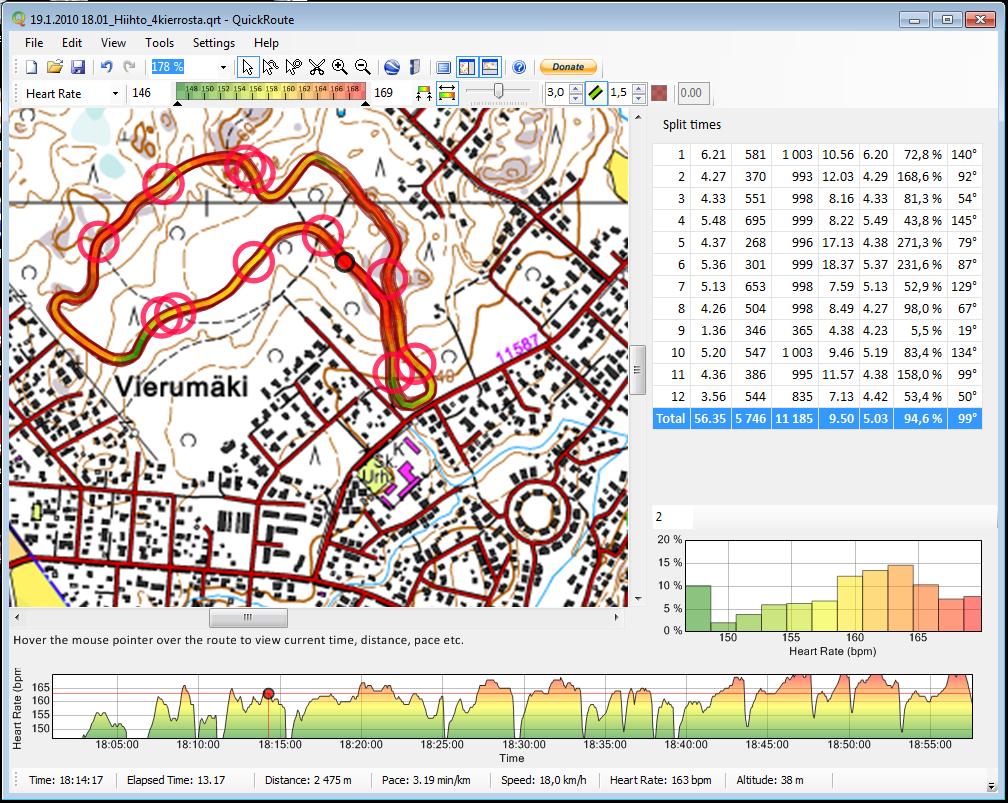 Tecnologia aplicada a les curses d'orientació: Quick Route