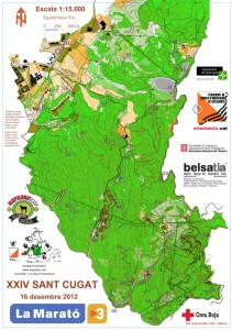 Mapes de la la Barcelona Sprint Cup i el Barcelona Orieentering Tour