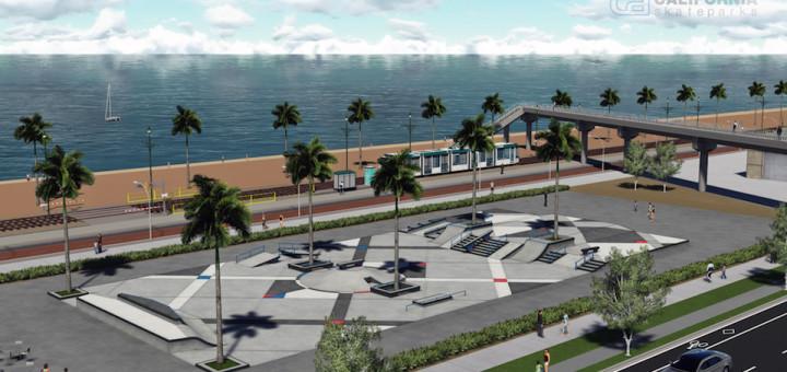 Nou skatepark a Badalona