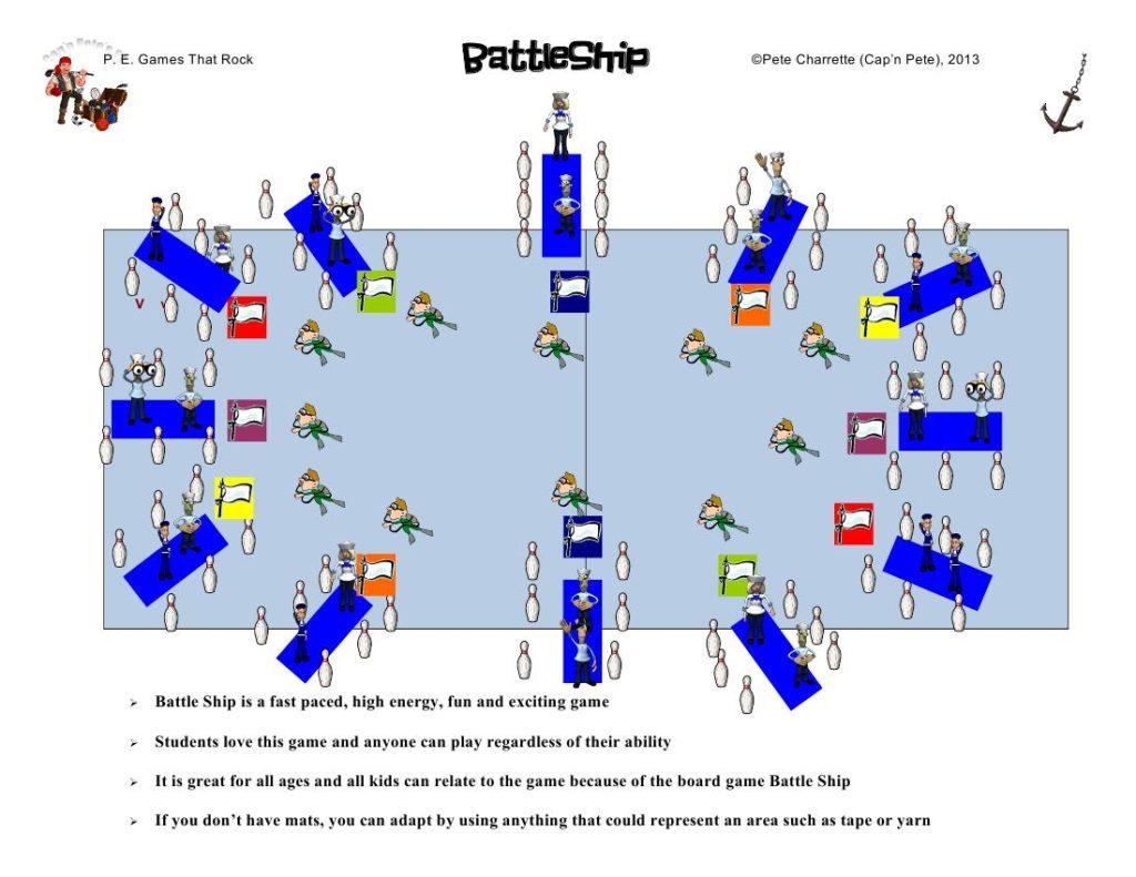 Battleship a l'escola