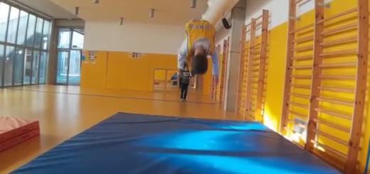 Activitats gimnàstiques a cicle mitjà