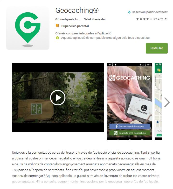 Geocerca o geocaching