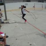 Coavaluació de salt amb corda a 5è