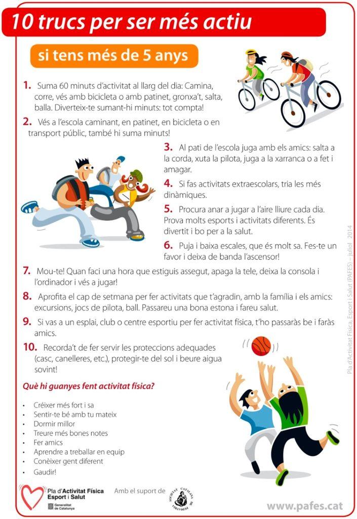 Activitat física - PowToon