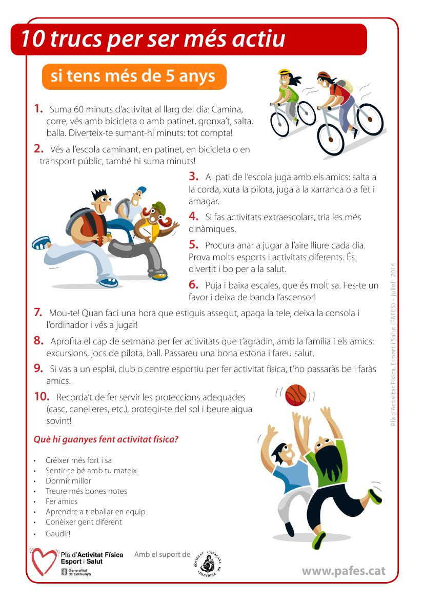 Targetes 10 trucs per ser més actiu