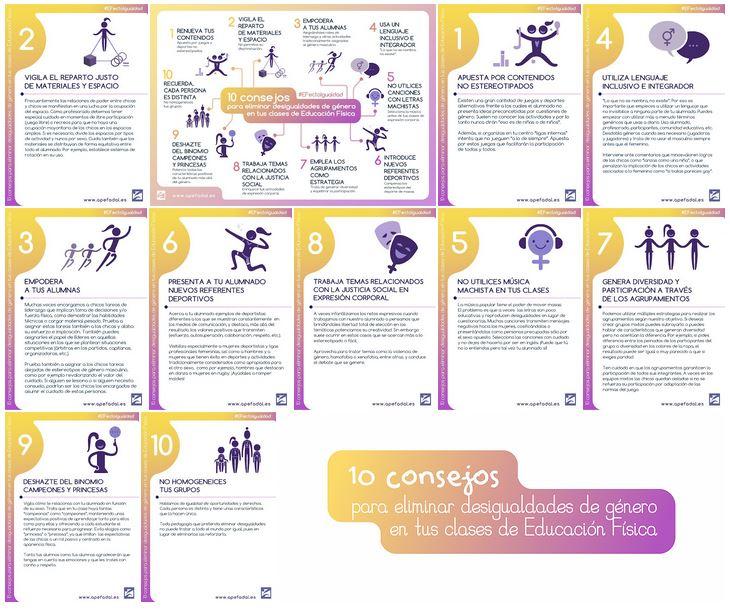 10 consells per eliminar les desigualtats de gènere a les teves classes d'educació física