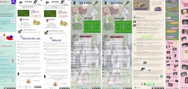 Infografies sobre jocs i esports poc coneguts I