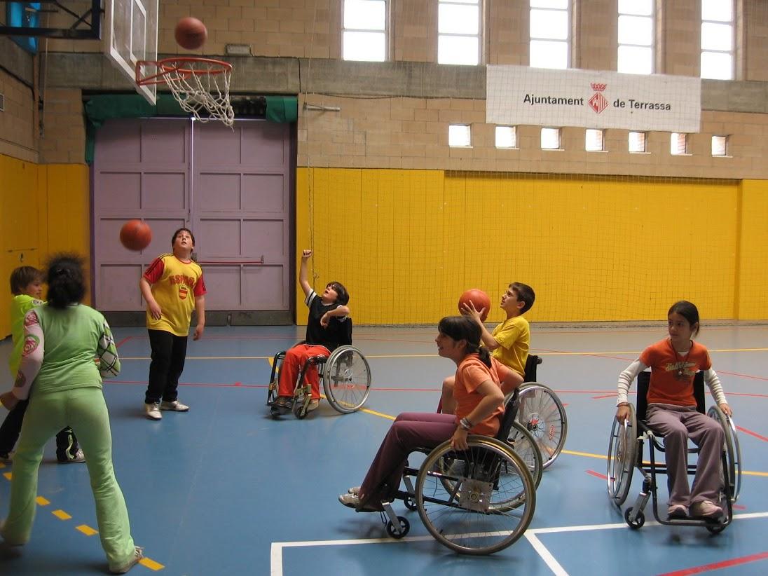 Esports paralímpics: bàsquet en cadira de rodes i goalball
